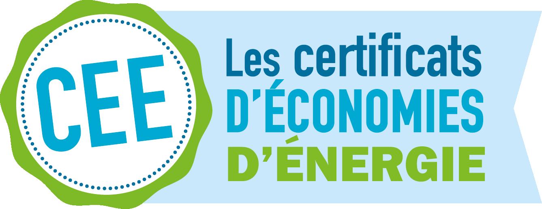 Logo CEE - Les Certificats d'Économies d'Énergie